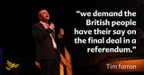Tim Farron - key Europe plan