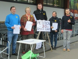 London Rd petition