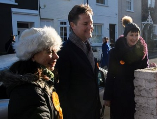 Sarah Olney, Nick Clegg, Caroline Pidgeon